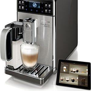 Saeco-GranBaristo-Avanti-Cafetera-espresso-automtica-con-recipiente-para-leche-color-negro-y-plata-0