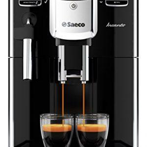Saeco-Incanto-Cafetera-espresso-sper-automtica-con-espumador-de-leche-clsico-color-negro-importada-0